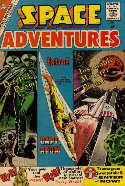Space Adventures #34 Comic Books - Covers, Scans, Photos  in Space Adventures Comic Books - Covers, Scans, Gallery