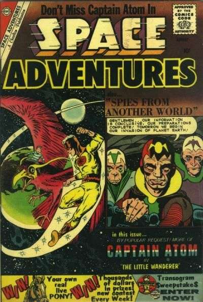Space Adventures #35 Comic Books - Covers, Scans, Photos  in Space Adventures Comic Books - Covers, Scans, Gallery
