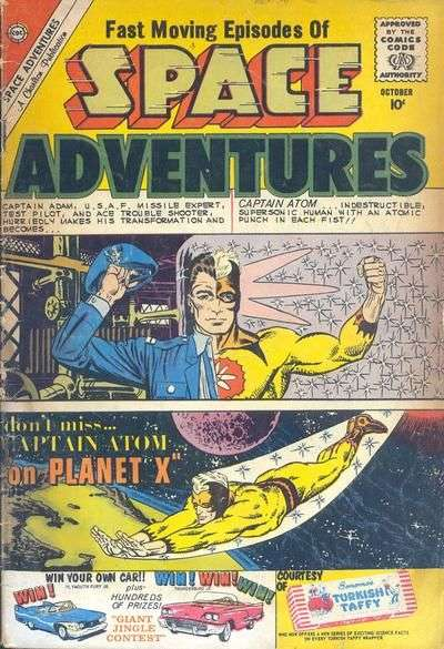Space Adventures #36 Comic Books - Covers, Scans, Photos  in Space Adventures Comic Books - Covers, Scans, Gallery