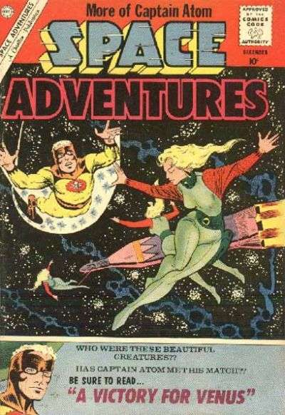 Space Adventures #37 Comic Books - Covers, Scans, Photos  in Space Adventures Comic Books - Covers, Scans, Gallery