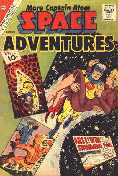 Space Adventures #42 Comic Books - Covers, Scans, Photos  in Space Adventures Comic Books - Covers, Scans, Gallery