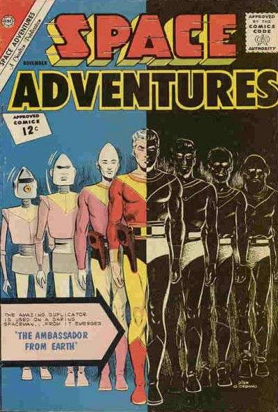 Space Adventures #48 comic books - cover scans photos Space Adventures #48 comic books - covers, picture gallery