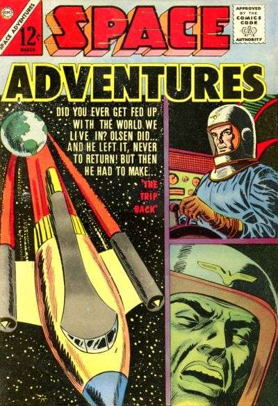 Space Adventures #50 Comic Books - Covers, Scans, Photos  in Space Adventures Comic Books - Covers, Scans, Gallery