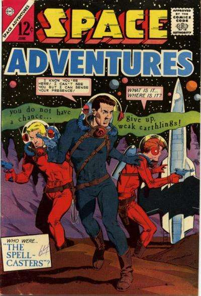 Space Adventures #57 comic books - cover scans photos Space Adventures #57 comic books - covers, picture gallery