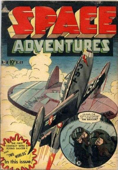 Space Adventures #6 Comic Books - Covers, Scans, Photos  in Space Adventures Comic Books - Covers, Scans, Gallery
