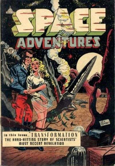 Space Adventures #7 Comic Books - Covers, Scans, Photos  in Space Adventures Comic Books - Covers, Scans, Gallery