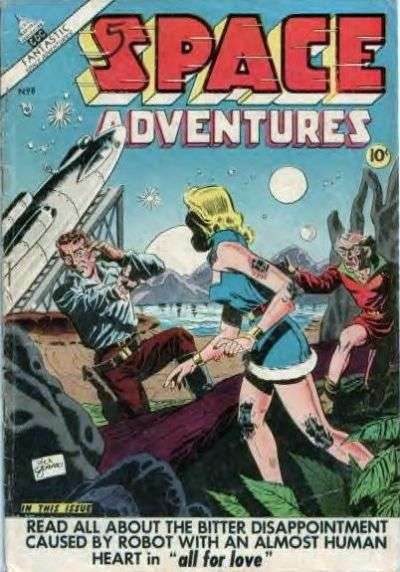 Space Adventures #8 Comic Books - Covers, Scans, Photos  in Space Adventures Comic Books - Covers, Scans, Gallery