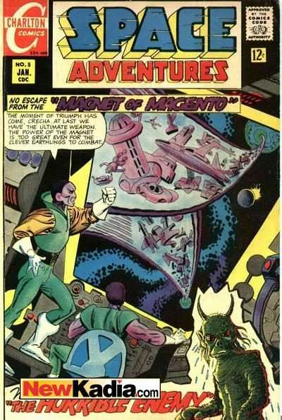 Space Adventures #5 Comic Books - Covers, Scans, Photos  in Space Adventures Comic Books - Covers, Scans, Gallery