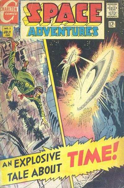Space Adventures #2 Comic Books - Covers, Scans, Photos  in Space Adventures Comic Books - Covers, Scans, Gallery