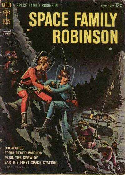 Space Family Robinson Comic Books. Space Family Robinson Comics.