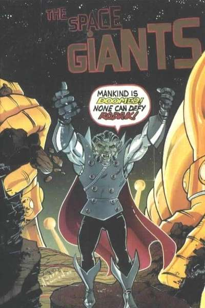 Space Giants comic books
