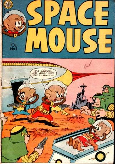 Space Mouse comic books