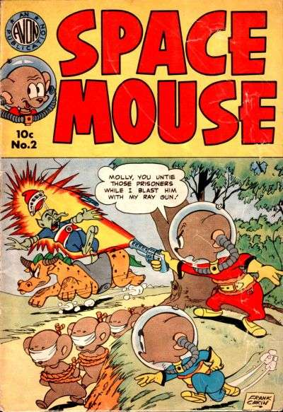 Space Mouse #2 Comic Books - Covers, Scans, Photos  in Space Mouse Comic Books - Covers, Scans, Gallery