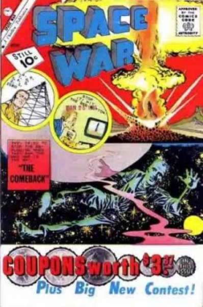 Space War #10 Comic Books - Covers, Scans, Photos  in Space War Comic Books - Covers, Scans, Gallery