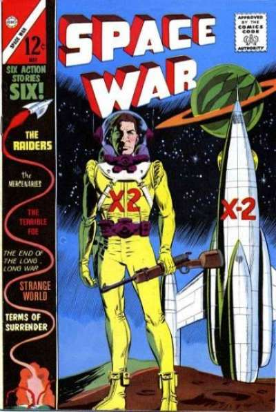 Space War #22 comic books for sale