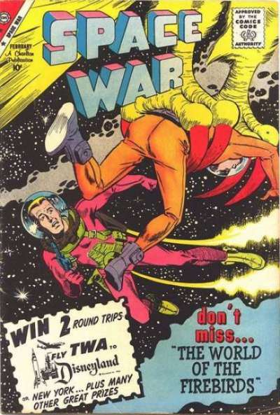 Space War #3 comic books for sale