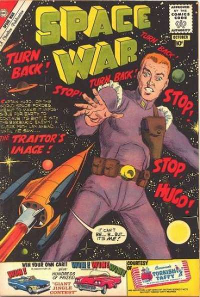 Space War #7 Comic Books - Covers, Scans, Photos  in Space War Comic Books - Covers, Scans, Gallery