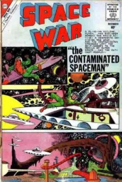 Space War #8 Comic Books - Covers, Scans, Photos  in Space War Comic Books - Covers, Scans, Gallery