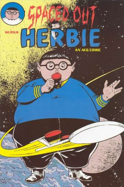 Spaced Out Herbie #1 comic books - cover scans photos Spaced Out Herbie #1 comic books - covers, picture gallery