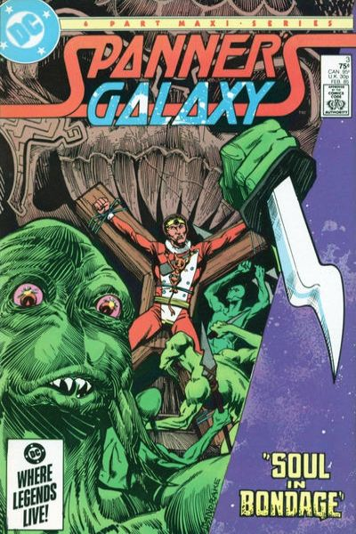 Spanner's Galaxy #3 comic books for sale