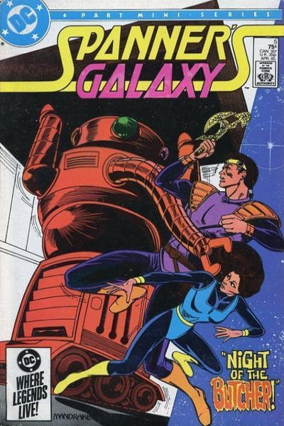 Spanner's Galaxy #5 comic books for sale