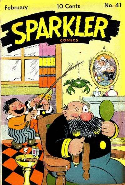 Sparkler Comics #41 comic books for sale