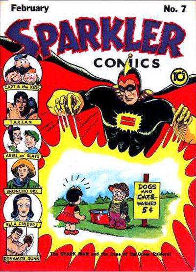 Sparkler Comics #7 Comic Books - Covers, Scans, Photos  in Sparkler Comics Comic Books - Covers, Scans, Gallery