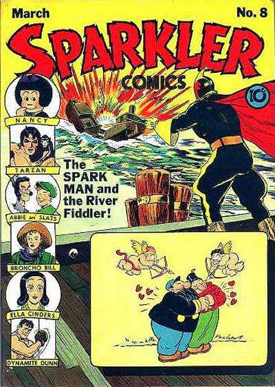 Sparkler Comics #8 Comic Books - Covers, Scans, Photos  in Sparkler Comics Comic Books - Covers, Scans, Gallery