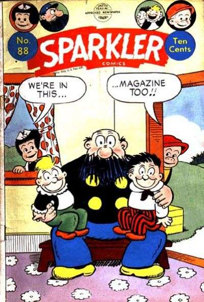 Sparkler Comics #88 comic books - cover scans photos Sparkler Comics #88 comic books - covers, picture gallery