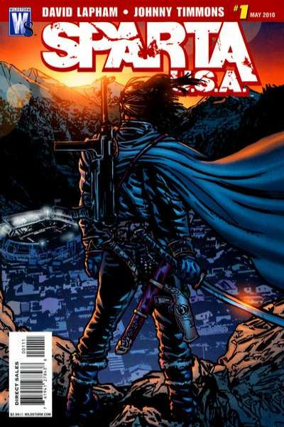 Sparta: USA #1 comic books - cover scans photos Sparta: USA #1 comic books - covers, picture gallery