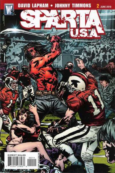 Sparta: USA #2 comic books - cover scans photos Sparta: USA #2 comic books - covers, picture gallery