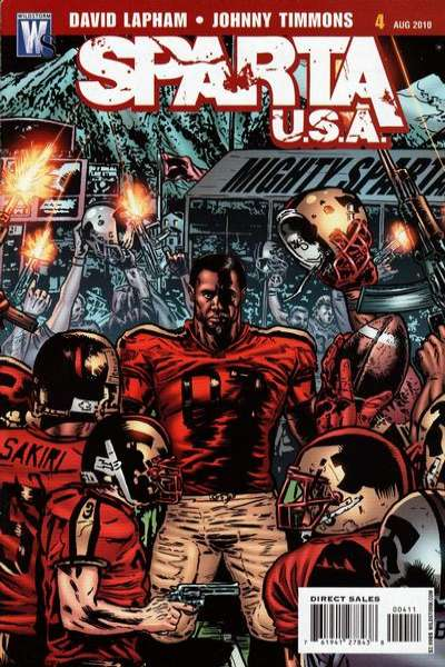 Sparta: USA #4 Comic Books - Covers, Scans, Photos  in Sparta: USA Comic Books - Covers, Scans, Gallery