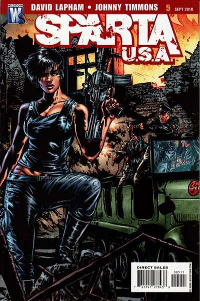 Sparta: USA #5 comic books - cover scans photos Sparta: USA #5 comic books - covers, picture gallery