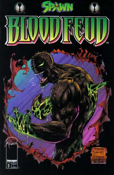 Spawn: Blood Feud #3 comic books for sale