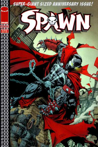 Spawn #200 cheap bargain discounted comic books Spawn #200 comic books