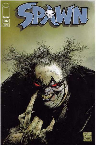 Spawn #202 Comic Books - Covers, Scans, Photos  in Spawn Comic Books - Covers, Scans, Gallery
