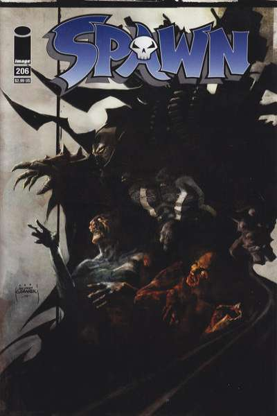Spawn #206 Comic Books - Covers, Scans, Photos  in Spawn Comic Books - Covers, Scans, Gallery