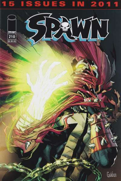 Spawn #210 Comic Books - Covers, Scans, Photos  in Spawn Comic Books - Covers, Scans, Gallery