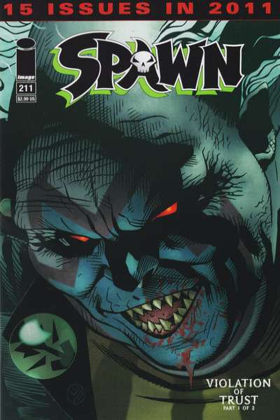 Spawn #211 Comic Books - Covers, Scans, Photos  in Spawn Comic Books - Covers, Scans, Gallery