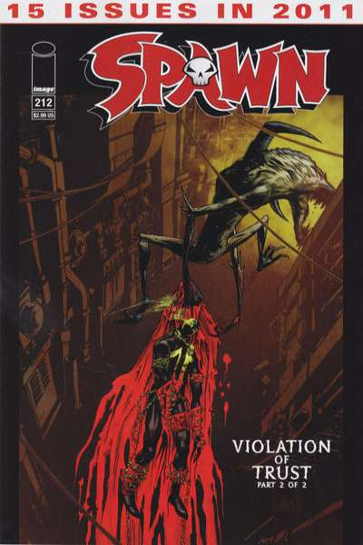 Spawn #212 Comic Books - Covers, Scans, Photos  in Spawn Comic Books - Covers, Scans, Gallery