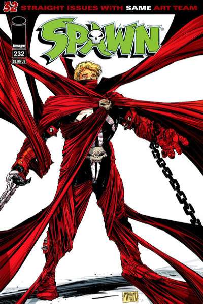 Spawn #232 comic books for sale