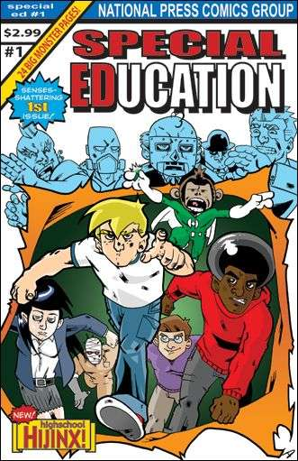 Special Education Comic Books. Special Education Comics.