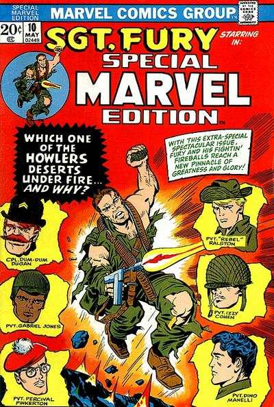 Special Marvel Edition #10 comic books - cover scans photos Special Marvel Edition #10 comic books - covers, picture gallery