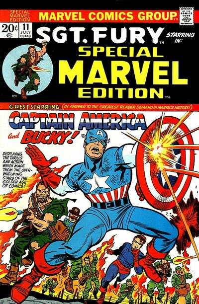Special Marvel Edition #11 comic books - cover scans photos Special Marvel Edition #11 comic books - covers, picture gallery