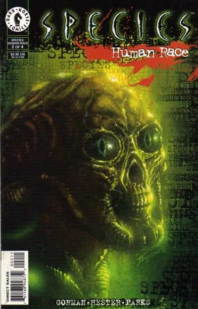 Species: Human Race #2 Comic Books - Covers, Scans, Photos  in Species: Human Race Comic Books - Covers, Scans, Gallery