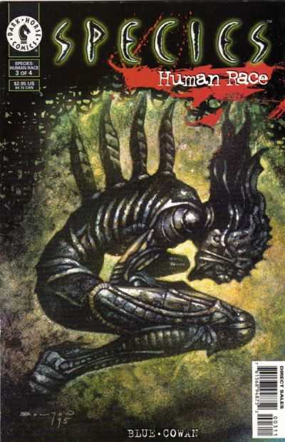Species: Human Race #3 Comic Books - Covers, Scans, Photos  in Species: Human Race Comic Books - Covers, Scans, Gallery