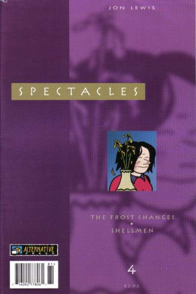 Spectacles #4 comic books - cover scans photos Spectacles #4 comic books - covers, picture gallery