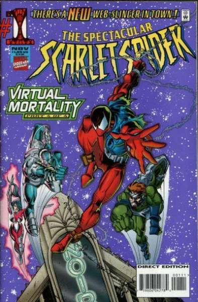 Spectacular Scarlet Spider #1 Comic Books - Covers, Scans, Photos  in Spectacular Scarlet Spider Comic Books - Covers, Scans, Gallery