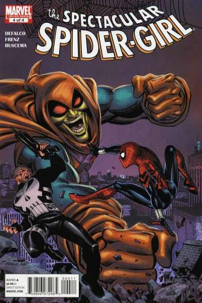 Spectacular Spider-Girl #4 Comic Books - Covers, Scans, Photos  in Spectacular Spider-Girl Comic Books - Covers, Scans, Gallery