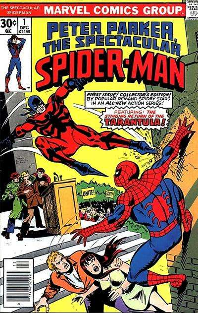 Spectacular Spider-Man comic books